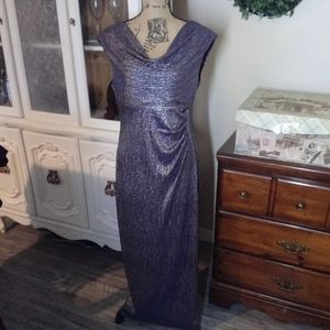 Connected Apparel Formal Silver Gown